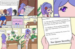 Blumi's Arrival pages 1 and 2 by senshi-of-legend