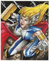 Thor Girl Dangerous Diva AP by Csyeung