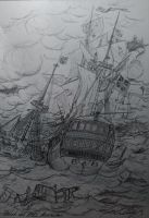 Scilly naval disaster, 1707 by trafalgarhero