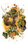 TMNT in action! by AlonsoEspinoza