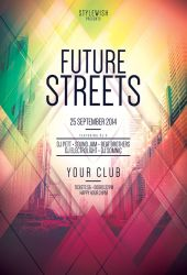 Future Streets Flyer by styleWish