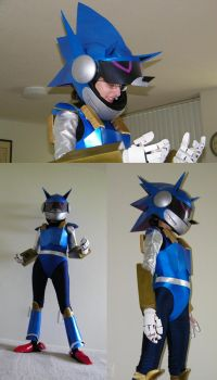 More Mecha Sonic Cosplay by Elisto