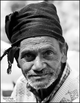 Faces of India. Wise Man by zoomzoom