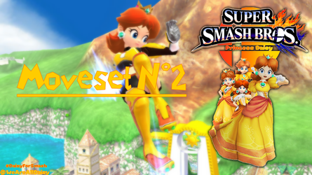 Support Daisy for Smash 2018 : Moveset #2 by DaisyPotential