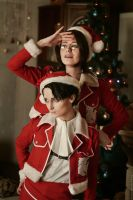 Happy New Year and Merry Christmas SnK by skyrap