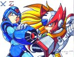 mega man x and zero by trunks24