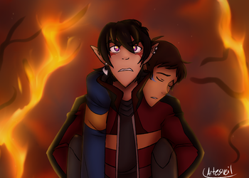 VLD|Klance|Lion King 2 AU|Rescue P.2 by ArtesVeil