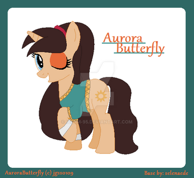 Aurora Butterfly Ponyfied Gift For jgss0109 by IceyM-95