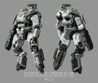 Humanoid suspension arm by icedestroyer