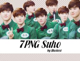 7 PNG Suho by BHottest