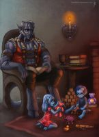Commission: Father by fadedkind