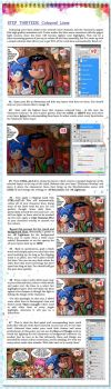Comic Page Tutorial  - Step 13 by glitcher