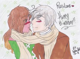 RussiLomb_.:Happy birthday AlessiaTH:. by DjAmuStar