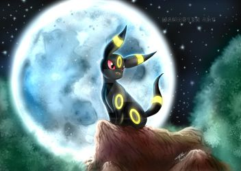 Umbreon by MahnsterArt