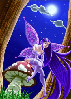 Faerie Full Color by blackcat906