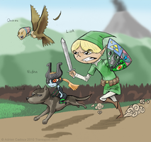 Link and Friends by Transypoo