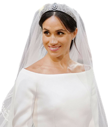 Meghan Markle-Royal Wedding 2018 PNG by nickelbackloverxoxox