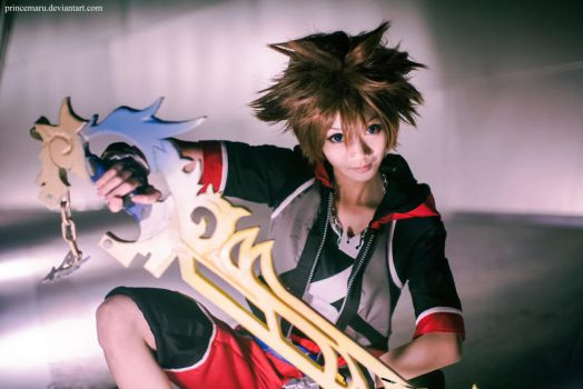 Kingdom Hearts 3D: Sora by PrinceMaru