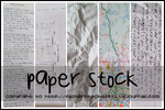 Paper Stock by compactdiscface