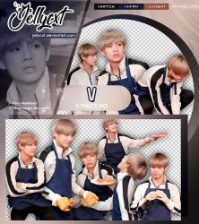 #104 | Pack PNG | V |BTS by jellycxt