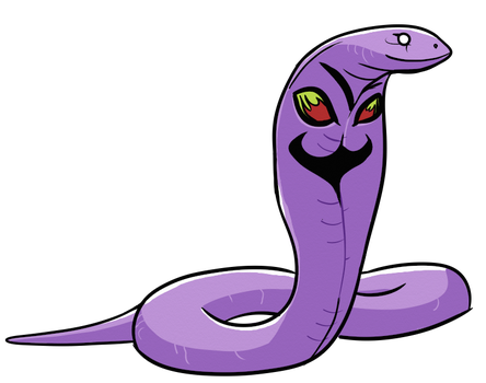 TPP Red 151 Diploma Collab: Arbok by WhoaConstrictor