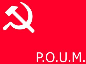 flag of the P.O.U.M. by Party9999999