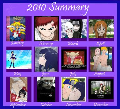 2010 Summary of Art by alucardvx