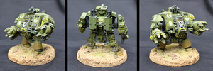 Warhammer 40k Dreadnought by shadowvfx