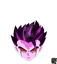 Villainous Mode gohan by hollowkingking