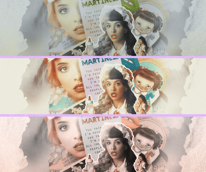 Melanie Martinez-Cry Baby [3 colours] by melissaalison13