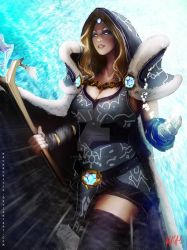 Dota 2 - Crystal Maiden by Kevin-Glint