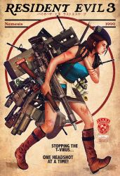 resident evil x rockwell by m7781