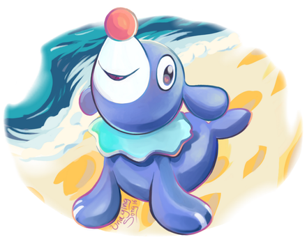 Hi Popplio! by UndyingSong