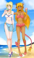 Summer event commission for Daugther of Tepes by Prettio