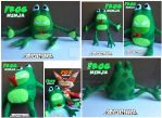 Frog Ninja by chriscrazyhouse