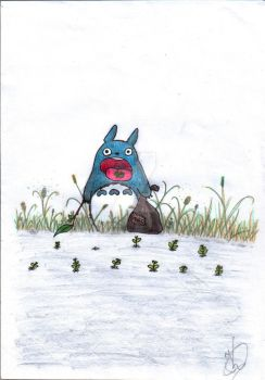 Totoro by TranquilCat