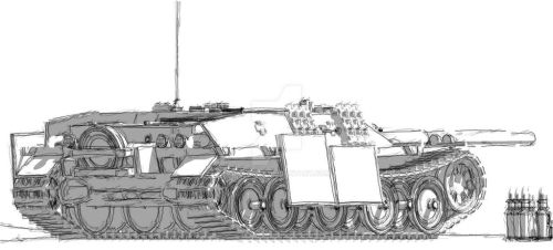 Giganaut 32 26 JagdPanzer IV Ausf B expot by Giganaut c78cea6b50f