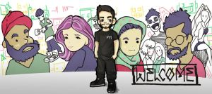 Welcome - Fort Minor by koy-kartoon