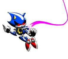 Metal Sonic Color-Sonic CD Contest Entry by BroDogz