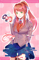 Just Monika by Alilz