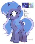 Princess Luna x Cloud Chaser Adopt - Open by LilyGarent