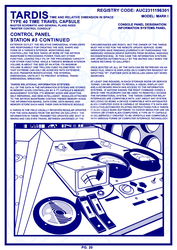 TARDIS Master Schematics Page 20  by Time-Lord-Rassilon