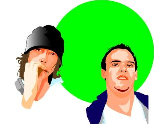 dudes for life vector by vicioussole