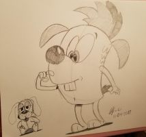Pawl and the Doll by spongefox