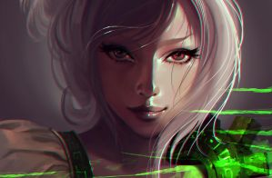 Riven the Exile by Haeaswen