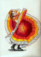 mexican dancer2 by winstonscreator