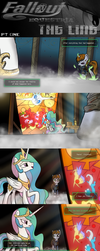 COMMISSION - Fallout Equestria: The Line (Pt 1) by Brisineo
