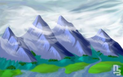 Mountain by nikiball1