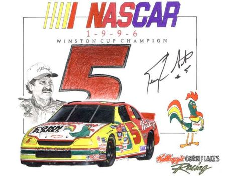 1996 Winston Cup Champion by shawnSass