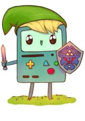 Beemo BMO  Link by HDAgirl